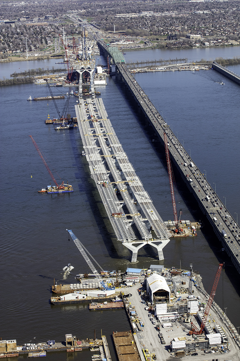 New Champlain Bridge Corridor-under-construction-180507(2)
