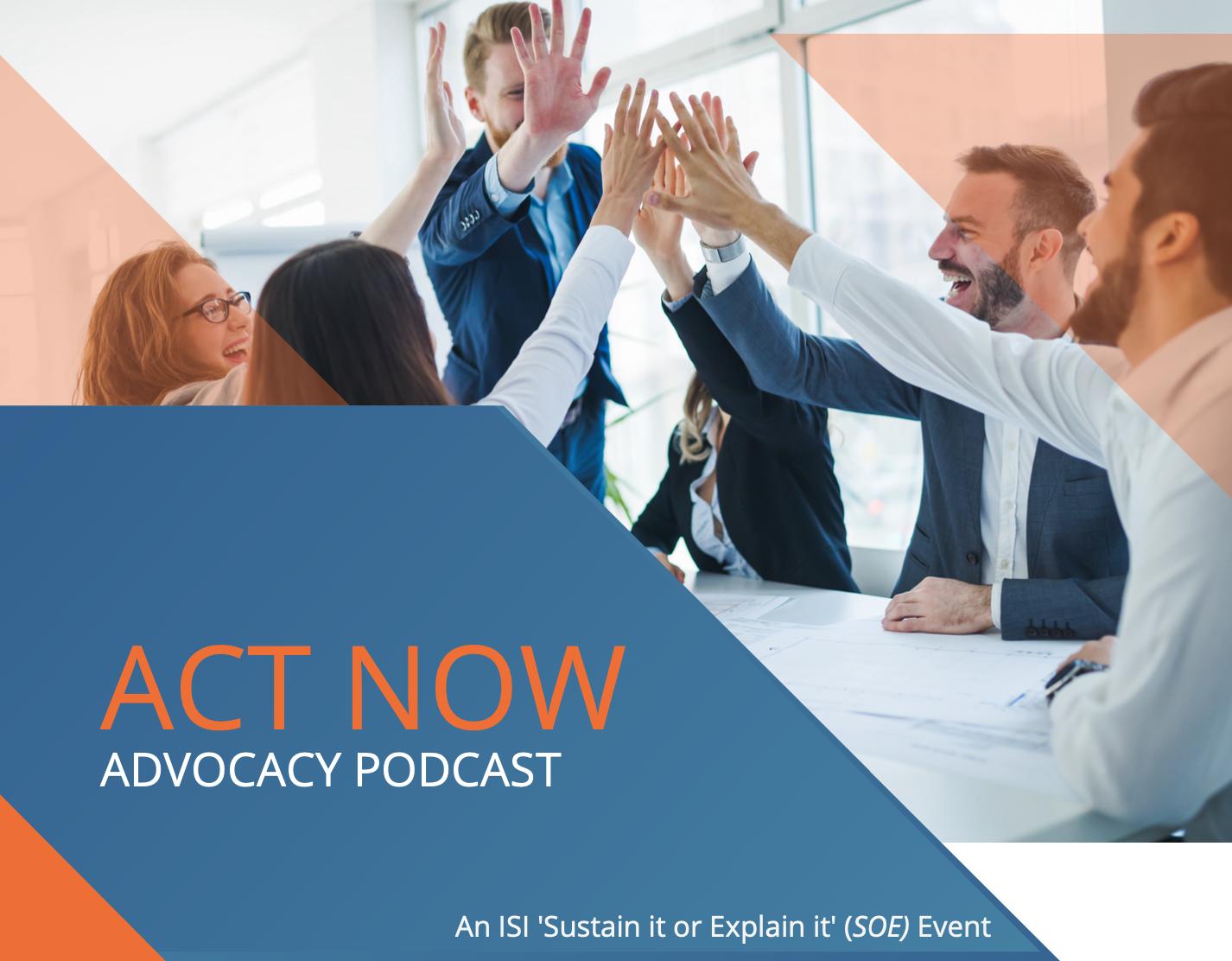 ACT NOW Advocacy Podcast